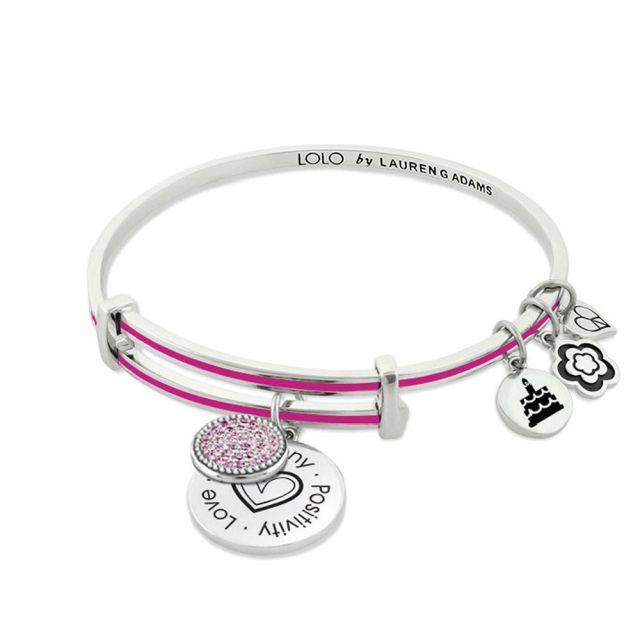 October Birthstone Color Bangle