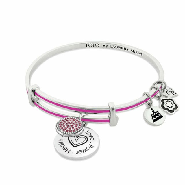 Lolo July Birthstone Bangle With Crystals