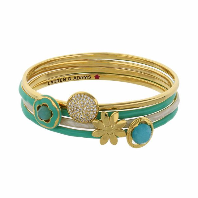 Floral Days Bangle Set