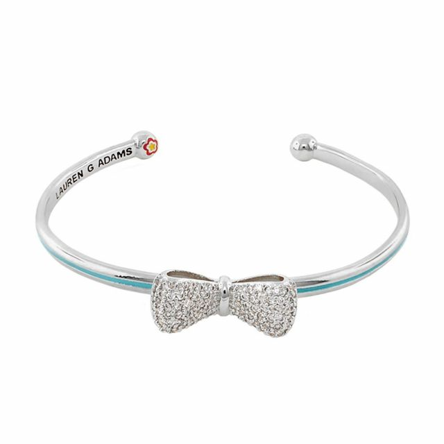 Open Arms Bow Bangle