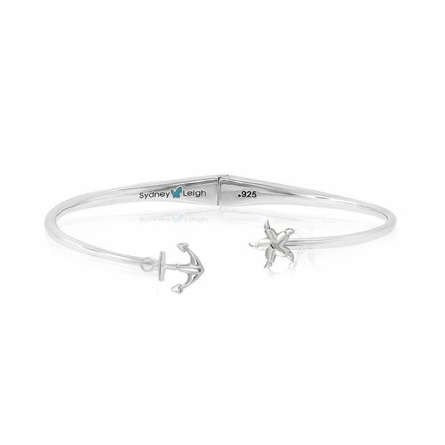 Sydney Leigh Starfish and Anchor Bangle