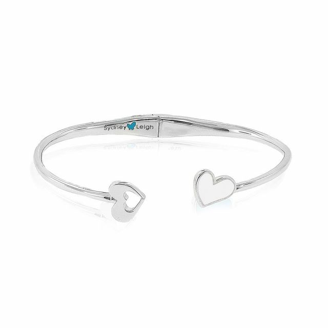 Sydney Leigh Heart Bangle