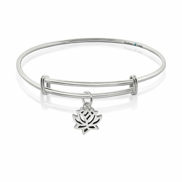 Sydney Leigh Lotus Flower Bangle