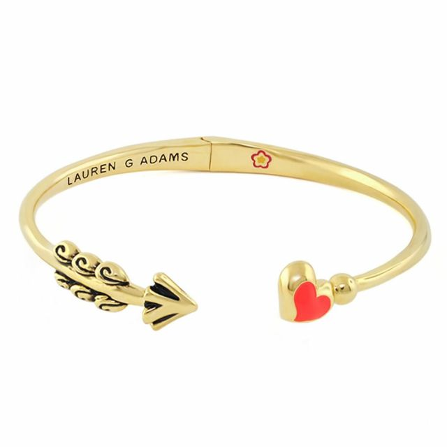 Open Arms Heart Bangle
