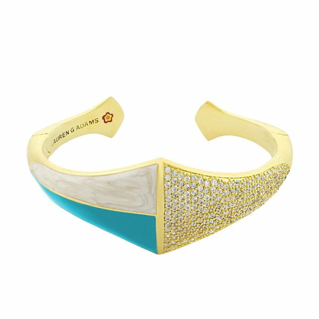 Material Girl Pave Bangle