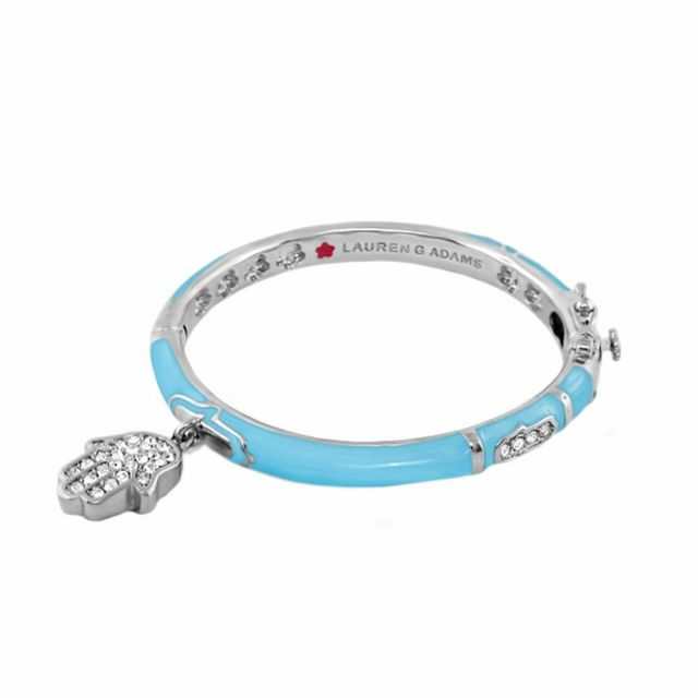 Girl's Bangle With Hamsa