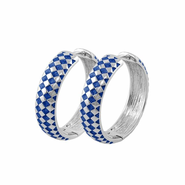 Checker Chic Earrings