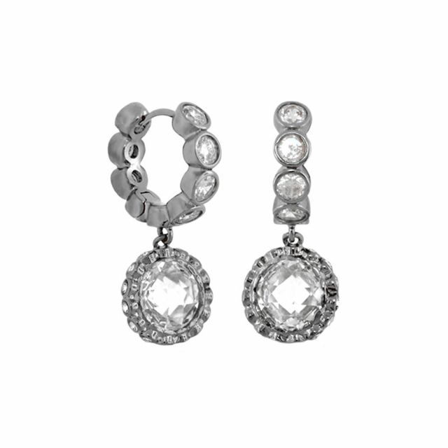 Classic Charm Round Earrings