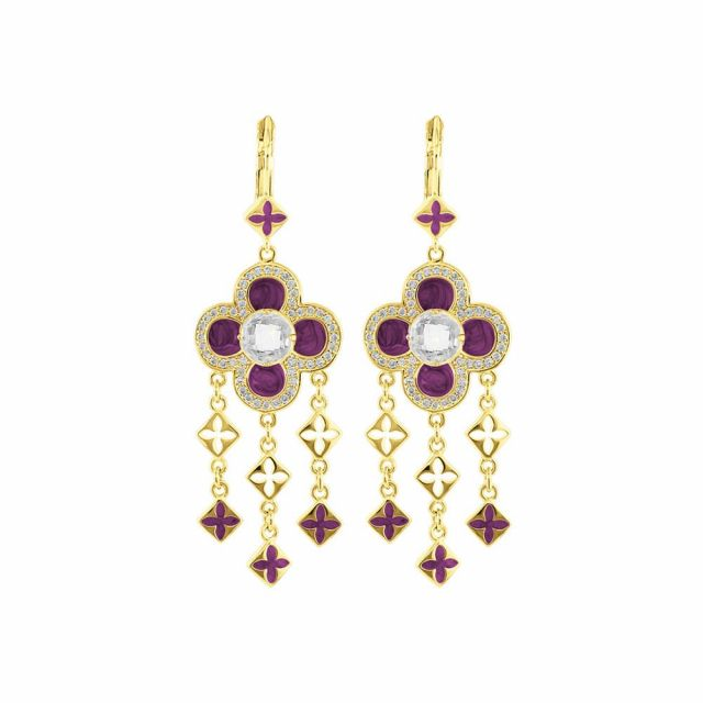 Floral Knight Earrings