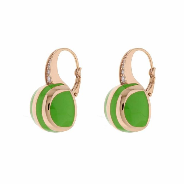 Bamboo Striped Earrings