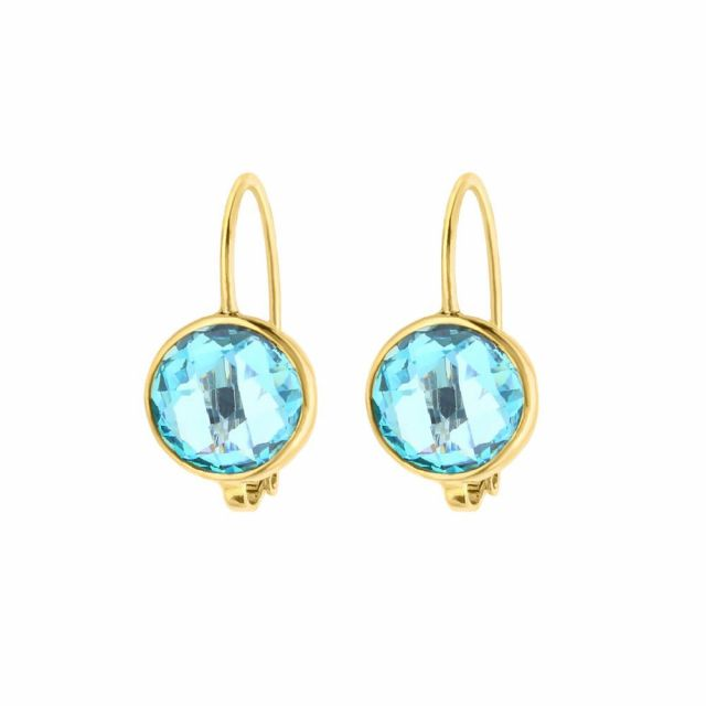 March Birthstone Color Earrings