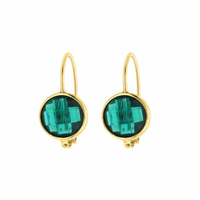 December Birthstone Color Earrings
