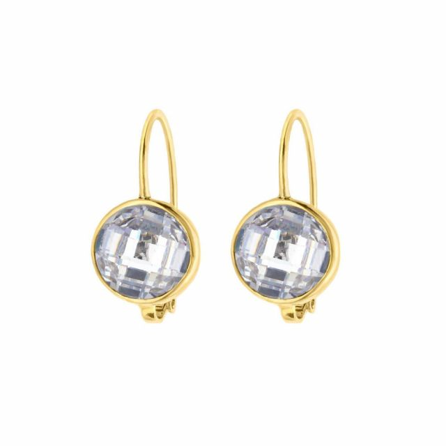 April Birthstone Color Earrings