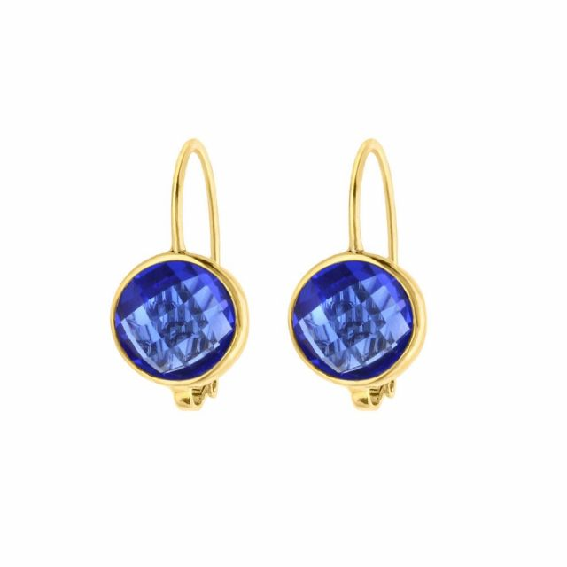 September Birthstone Color Earrings