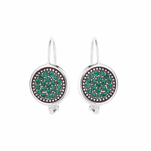 May Birthstone Color Earrings
