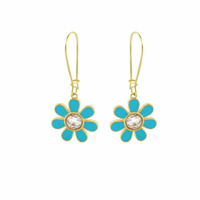Moon Flower Earring
