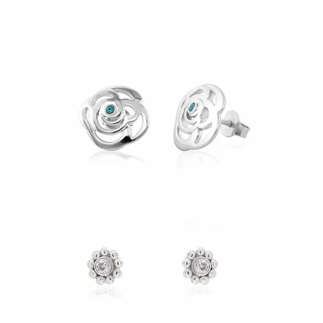 Sydney Leigh Rose Earrings