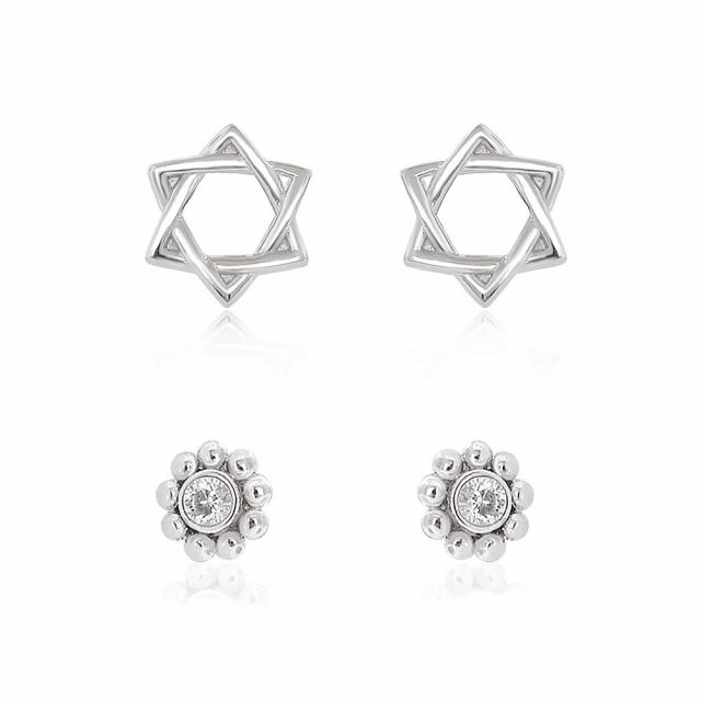Sydney Leigh Star Earrings Set of 2