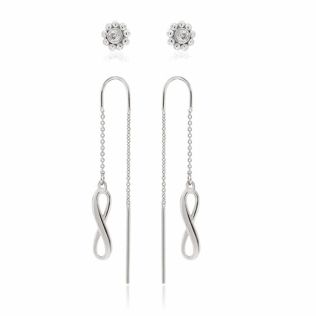 Sydney Leigh Infinity Earrings