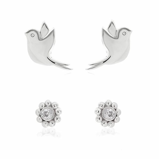 Sydney Leigh Dove Earrings Set of 2