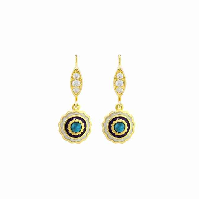 Lucky Hamsa Earrings