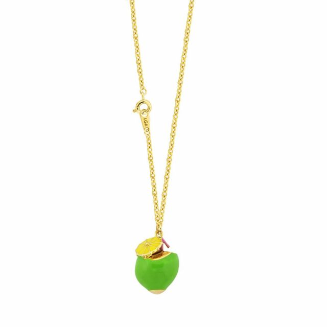 Coconut Pendant Necklace