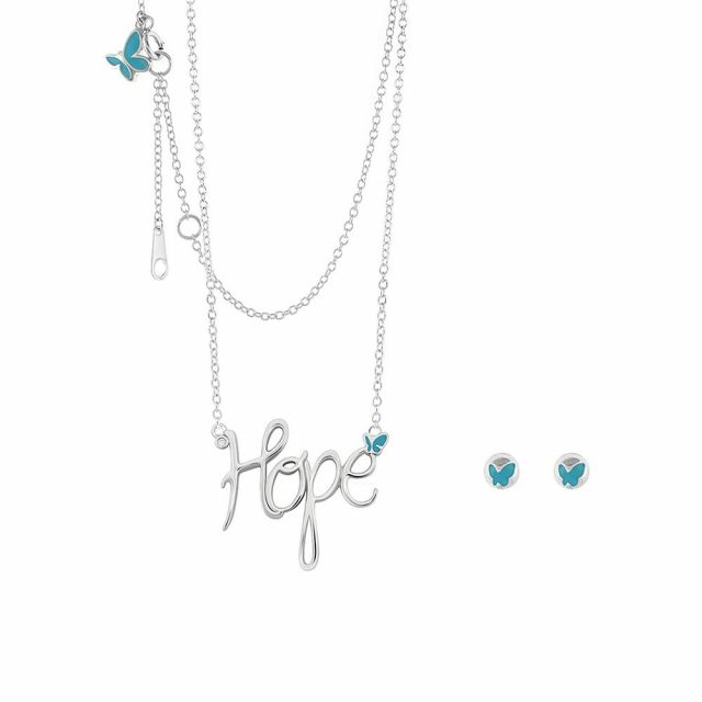 Sydney Leigh Hope Necklace & Earrings Set