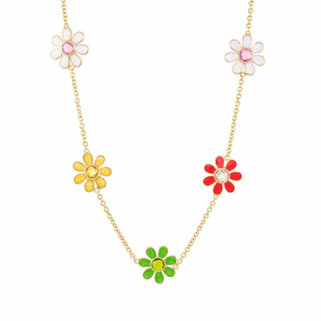 Daisy Bouquet Flower Necklace