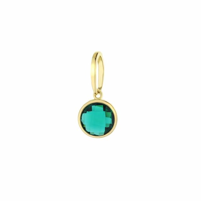 December Birthstone Color Pendant