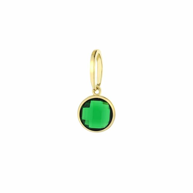 May Birthstone Color Pendant