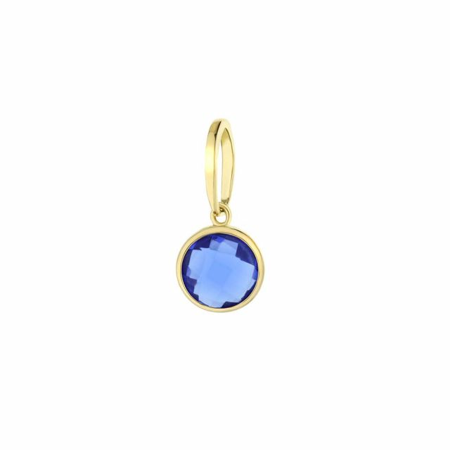 September Birthstone Color Pendant