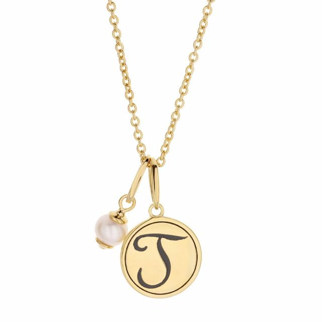 Initial J Necklace