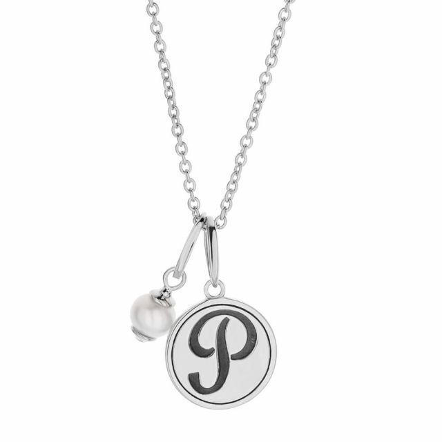 Initial P Necklace