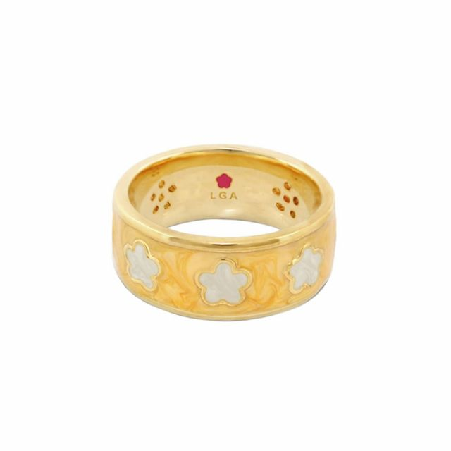 Daisy Love Band Ring