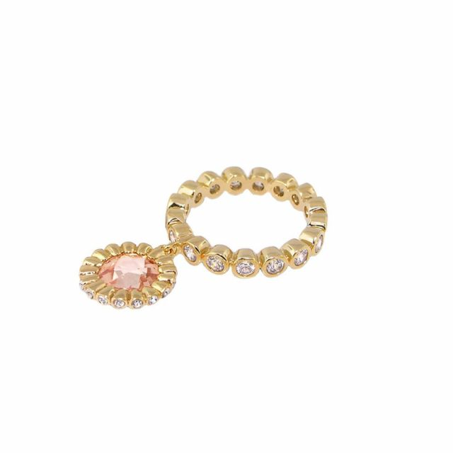 Stackable Charm Ring
