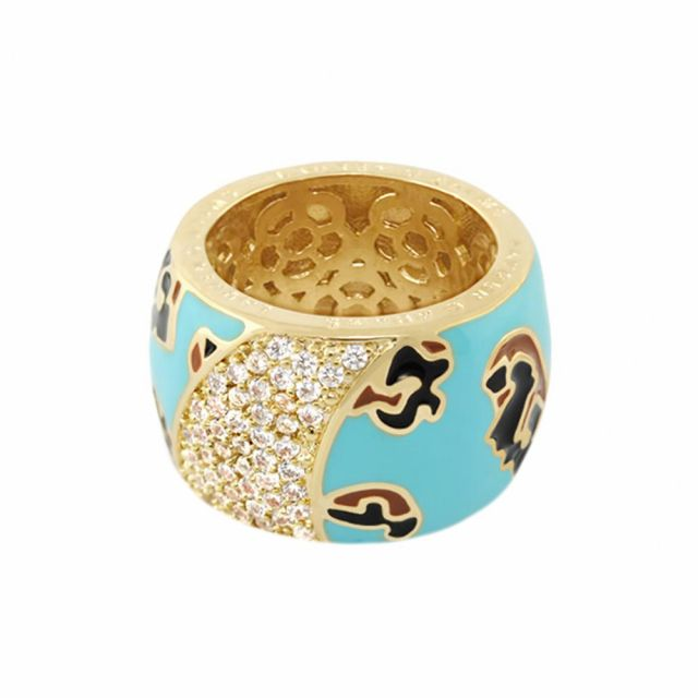 Fab Band Cocktail Ring