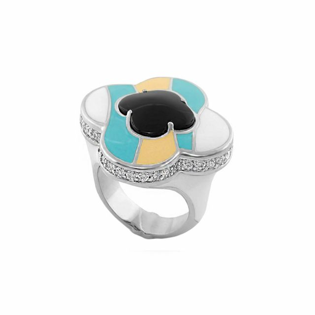 Clover Cocktail Ring