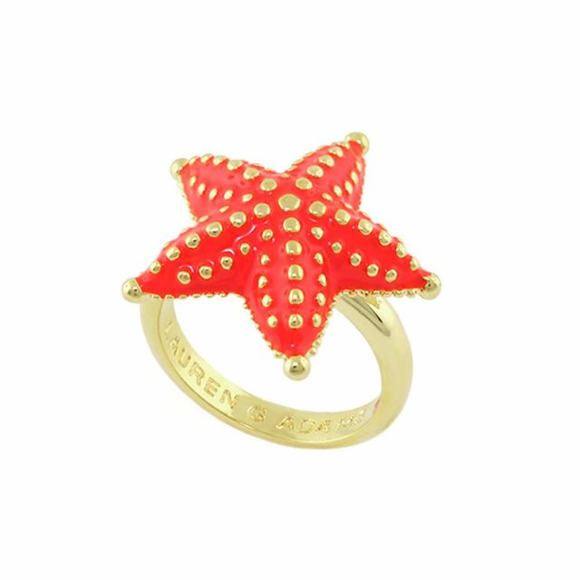 Eau Star Fish Cocktail Ring