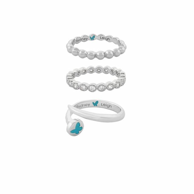 Sydney Leigh Nail Rings Set of 3