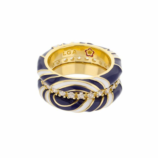 Petit Gateau Stackable Ring