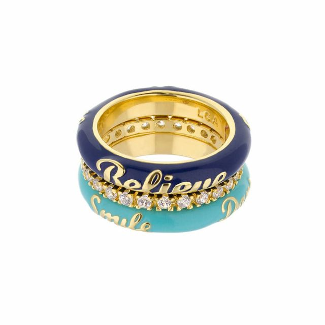 Petit Gateau Stackable Ring Set