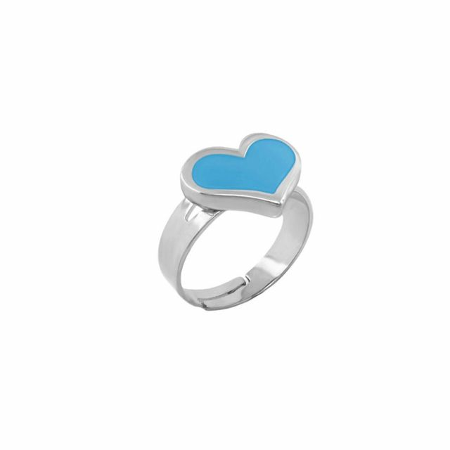 Heart Girls Stackable Ring