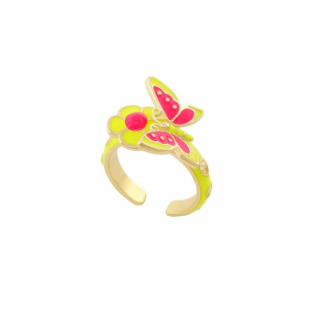 Dream Garden Butterfly Ring